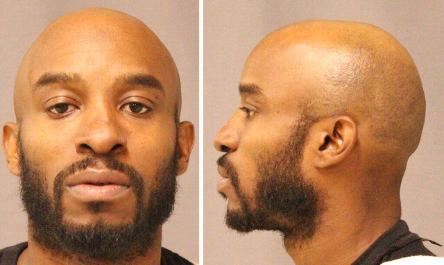 Kenyel Brown is seen in an undated photo provided by the US Marshals. Brown, 40, was an informant for the U.S. Bureau of Alcohol, Tobacco, Firearms and Explosives, according to Detroit police Chief James Craig. Despite multiple violations while on federal probation for a 2014 gun arrest, Brown was allowed to remain free at the request of an unnamed federal law enforcement agency, a federal court spokesman told The Detroit News. But U.S. Attorney Matthew Schneider said Thursday, Feb. 27, 2020 he has found no evidence of that.   (US Marshals/Detroit News via AP)