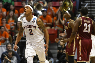 NCAA Charleston Auburn Basketball