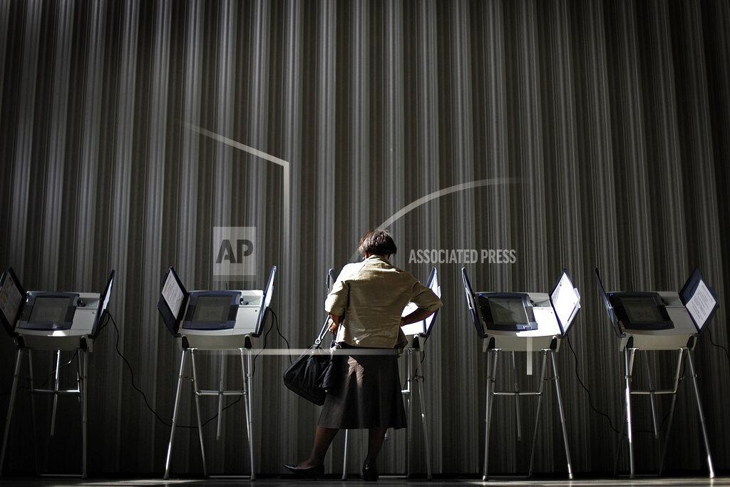 APTOPIX US Georgia Early Voting