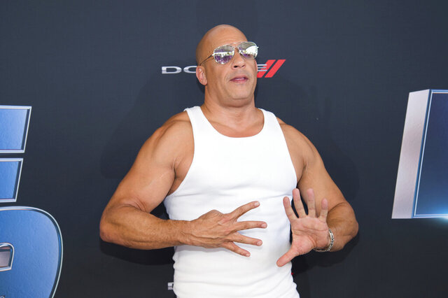 Actor Vin Diesel attends the the Road to