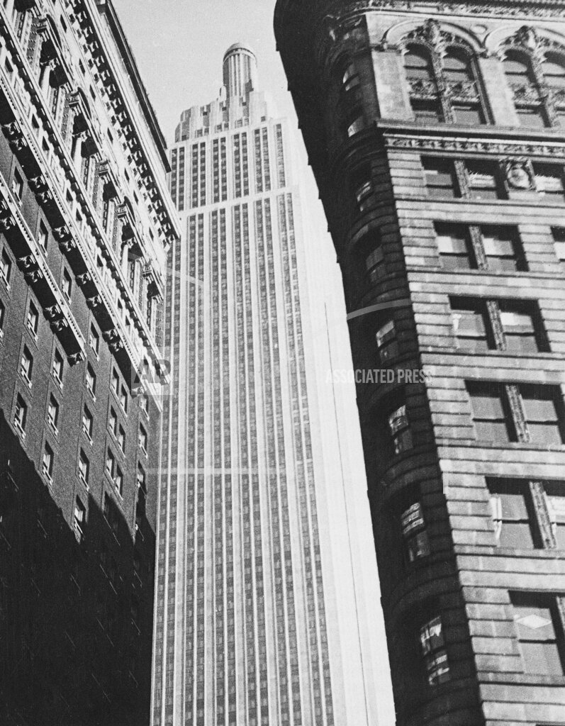 Associated Press Domestic News New York United States NYC EMPIRE STATE BUILDING