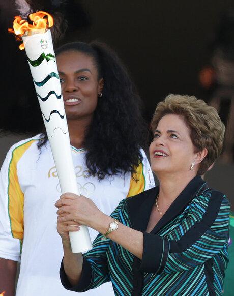 Dilma Rousseff, Fabiana Claudino