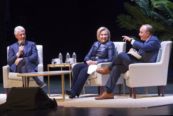 Bill Clinton, Hillary Rodham Clinton, Paul Begala