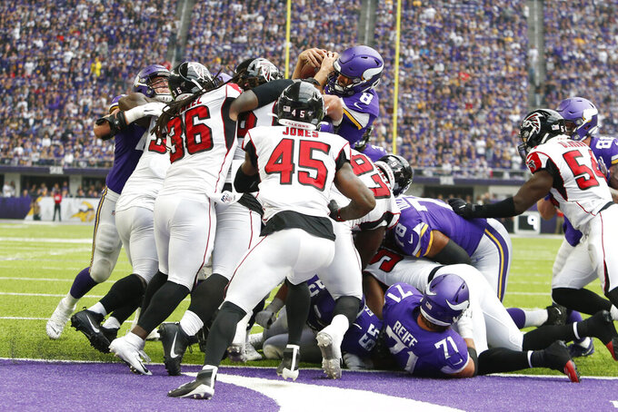 Falcons have several areas to fix after sloppy opener