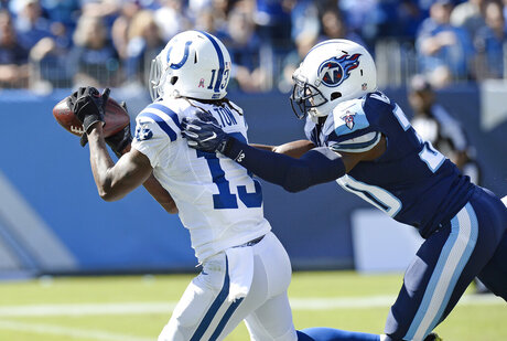 T Y Hilton, Jason McCourty