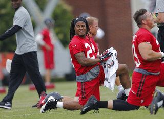 Falcons Running Backs Football