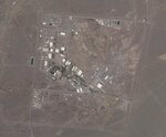 """A satellite photo from Planet Labs Inc. shows Iran's Natanz nuclear facility on Wednesday, April 14, 2021.  Iran's supreme leader says the offers being made at the Vienna talks over his country's tattered nuclear deal """"are not worth looking at."""" Ayatollah Ali Khamenei made the comment Wednesday in a speech on the first day of Ramadan in Iran.(Planet Labs via AP)"""