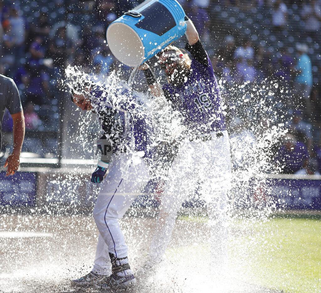 Diamondbacks Rockies Baseball