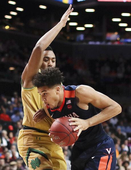 ACC Virginia Notre Dame Basketball