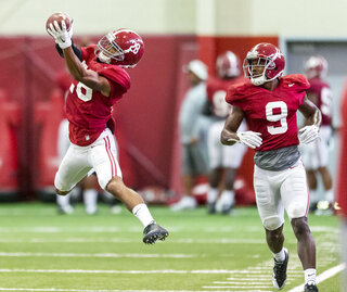 Alabama Football Practice Sept.9