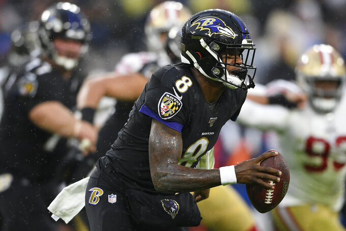Bills brace to face Jackson-led Ravens' bull-dozing offense