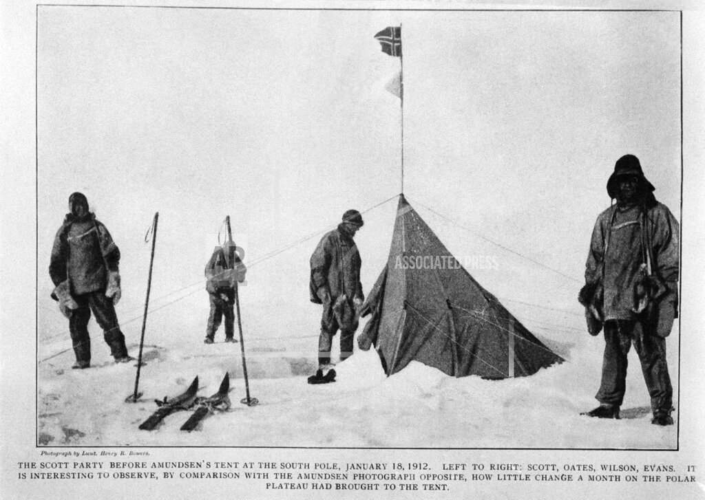 Watchf AP I   SDN APHS291994 Roald Amundsen?s tent at the South Pole