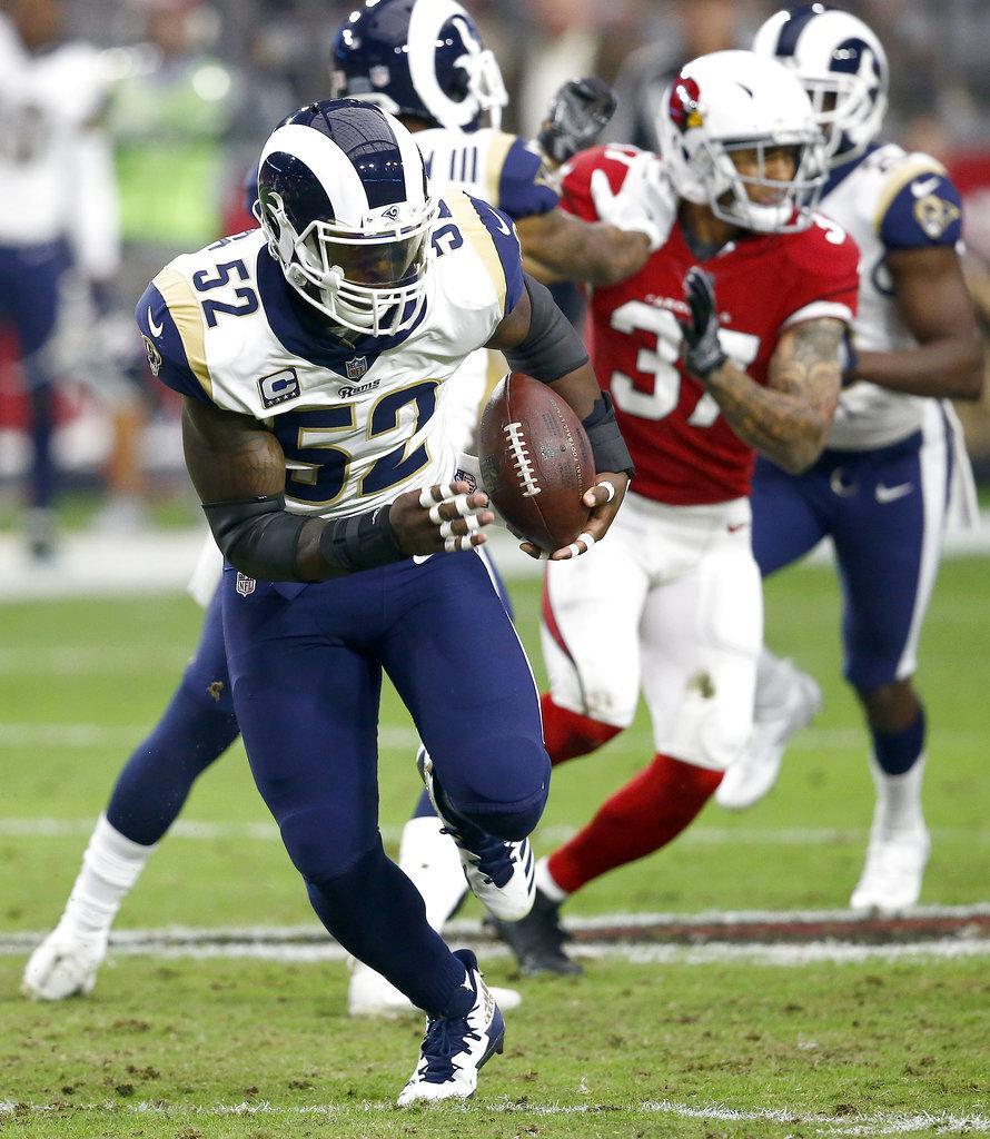 Rams Giants Trade Football