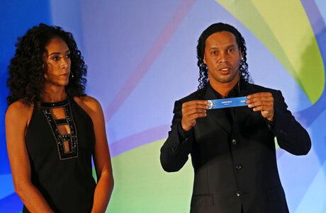 Ronaldinho, Aline Pellegrino