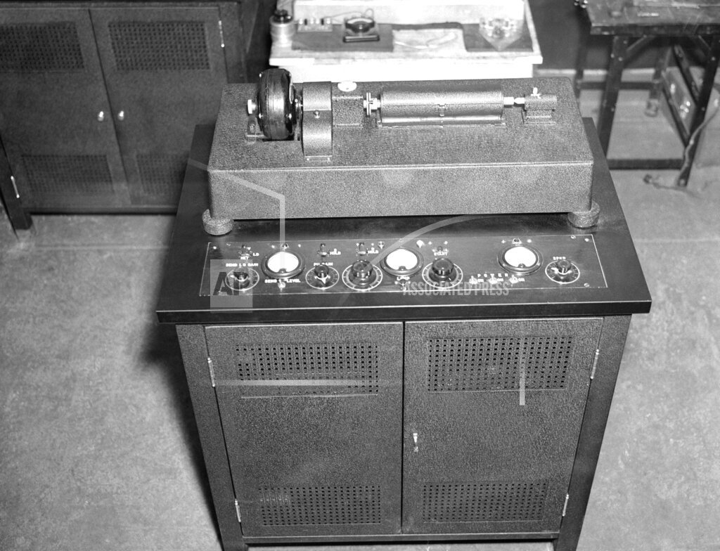 Watchf Associated Press Domestic News  New York United States APHS128502 AP Wirephoto Equipment 1937