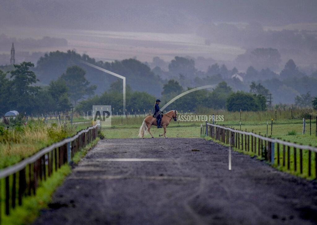 APTOPIX Germany Horses