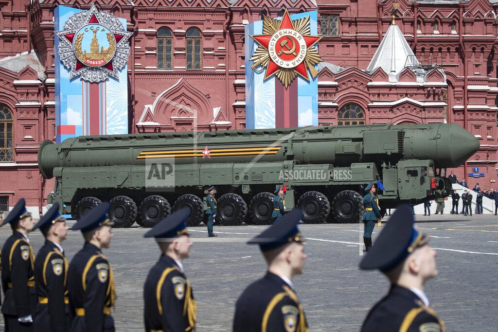 Russia Parade Rehearsal