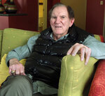 FILE - In this April 16, 2013, file photo, Hall of Famer Forrest Gregg is pictured during an interview in Greenwood Village, Colo. The Pro Football Hall of Fame says Green Bay Packers great Forrest Gregg has died. He was 85. The Hall did not disclose details about his death in its statement Friday, April 12, 2019. (AP Photo/Arnie Stapleton, File)