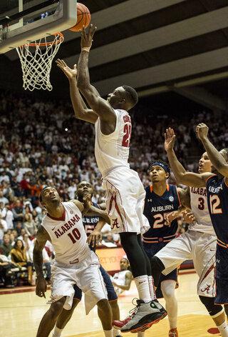 Alabama Basketball G19 vs Auburn