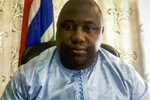 In this photo provided by the United Nations, Dawda A. Jallow, Attorney General and Minister of Justice of The Gambia, participates in the high-level virtual panel entitled