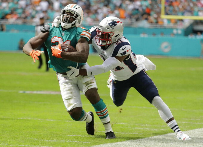 New England Patriots at Miami Dolphins 12/9/2018