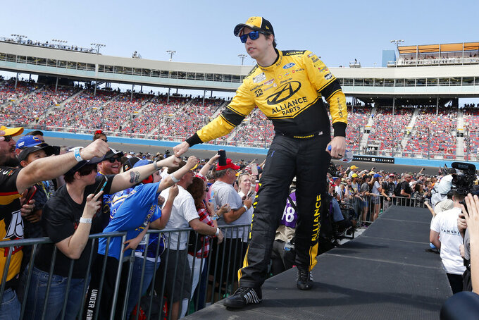Keselowski draws pole for NASCAR's return to Darlington