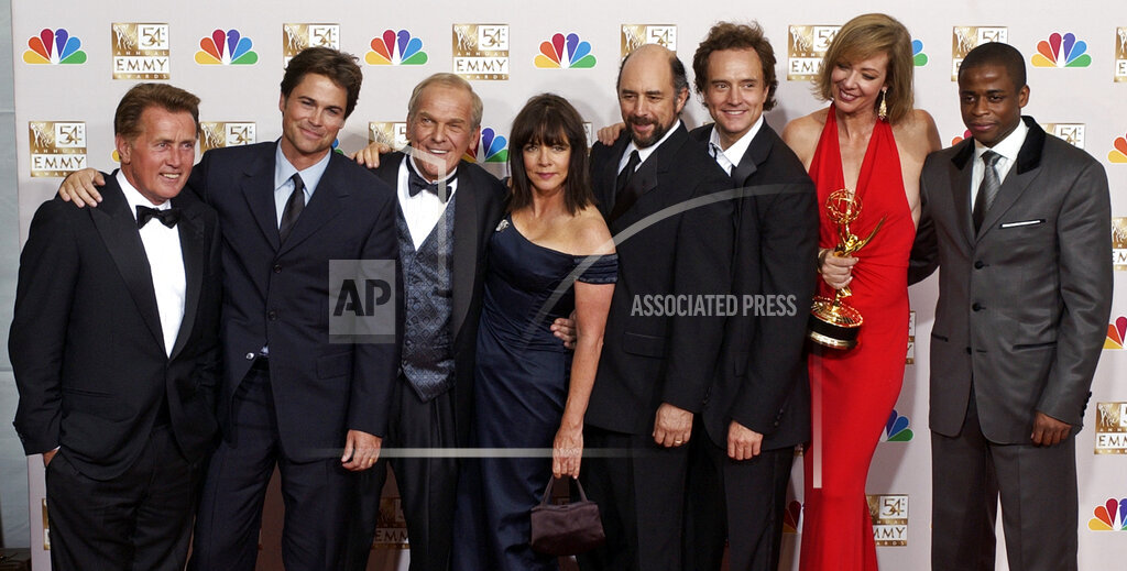 Associated Press Domestic News California United States Entertainment TV NBC WEST WING