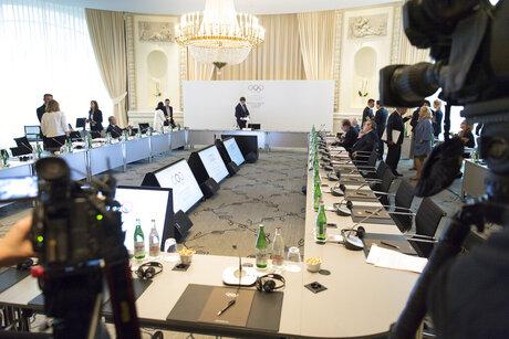 Switzerland IOC Meeting