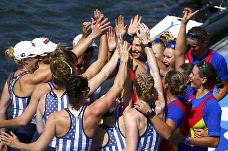 Rio Olympics Women Rowing
