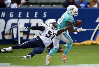 APTOPIX Dolphins Chargers Football
