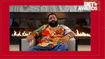 In this video grab issued Sunday, June 28, 2020, by BET, DJ Khaled accepts the award for video of the year for