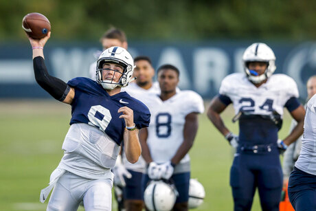 Penn St Practice Football