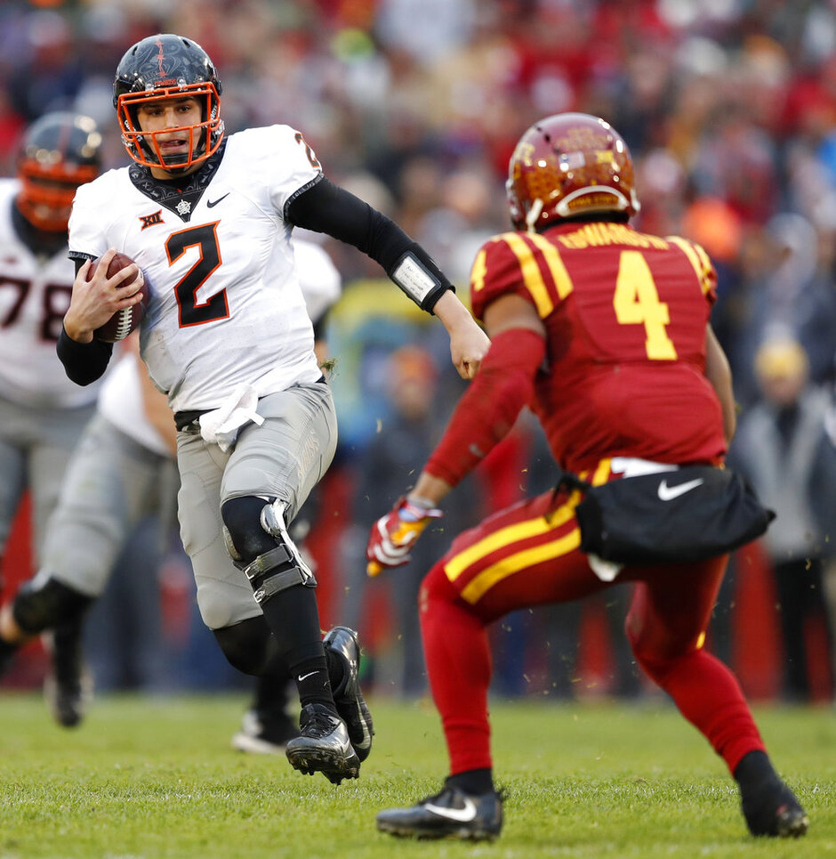 Oklahoma St Iowa St Football
