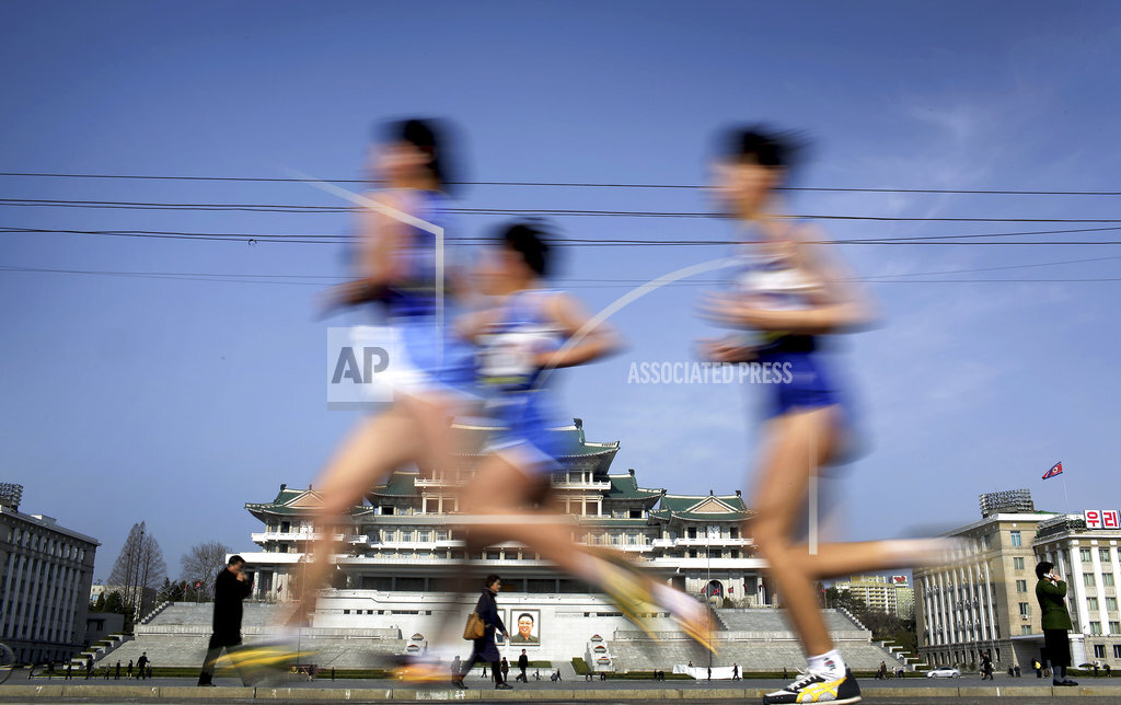 North Korea Pyongyang Marathon