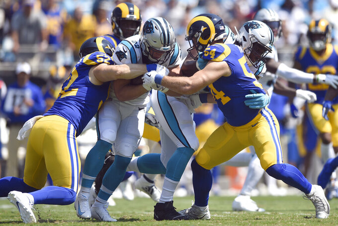 Los Angeles Rams at Carolina Panthers 9/8/2019