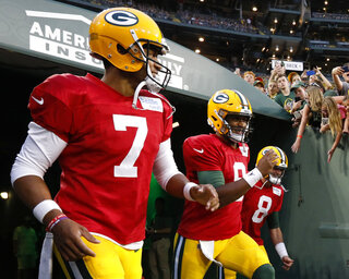 Packers-Quarterbacks Football