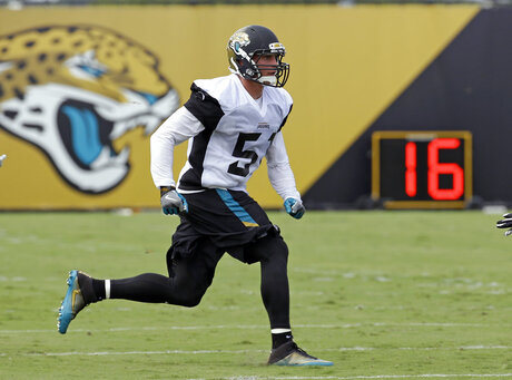 Jaguars Posluszny Retires Football