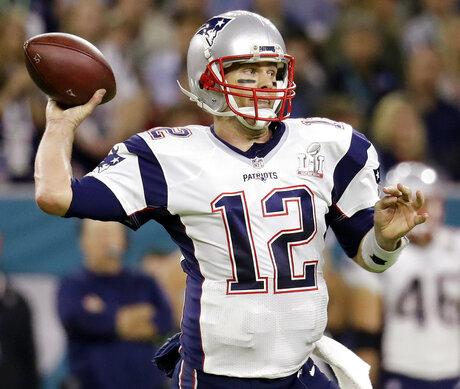 Patriots Brady Jersey Football