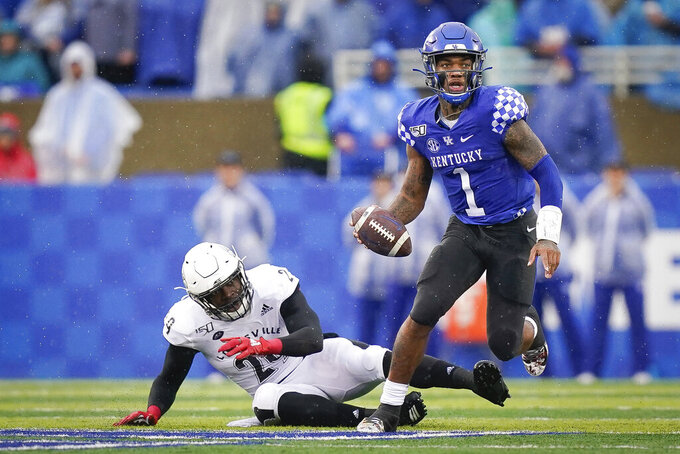 Kentucky's Lynn Bowden wins Hornung Award for versatility