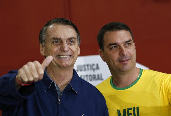 Jair Bolsonaro, Flavio Bolsonaro