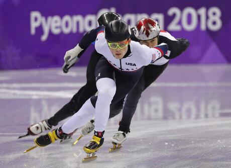 Pyeongchang Olympics Short Track Speed Skating Men
