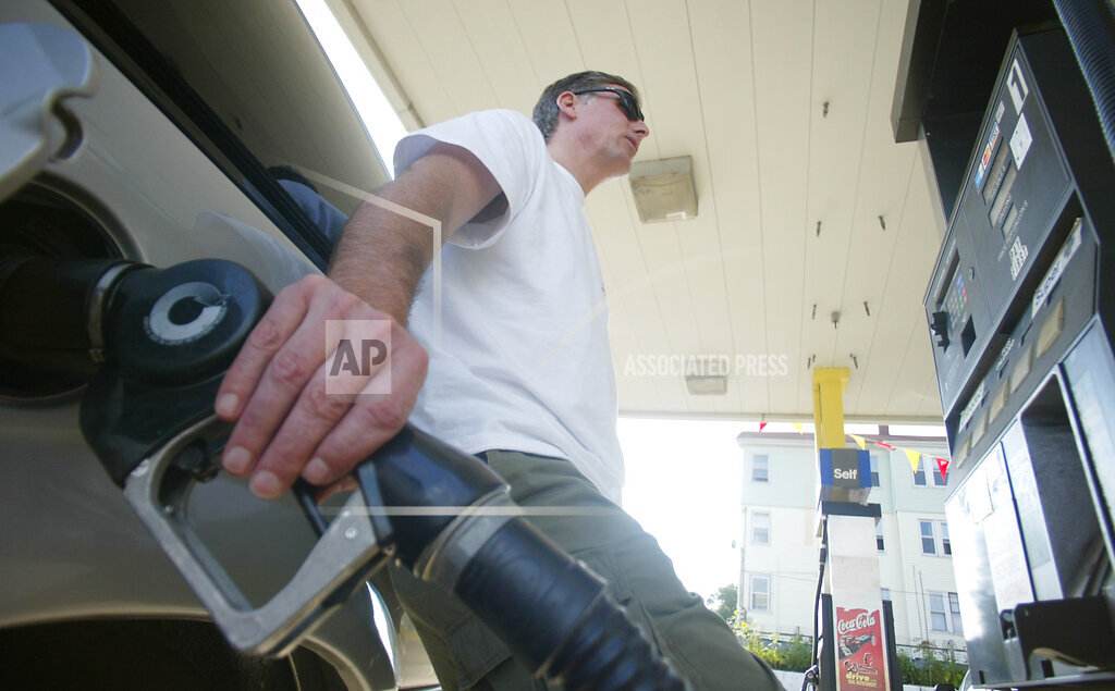 Associated Press Domestic News Rhode Island United States Finance GAS PRICES