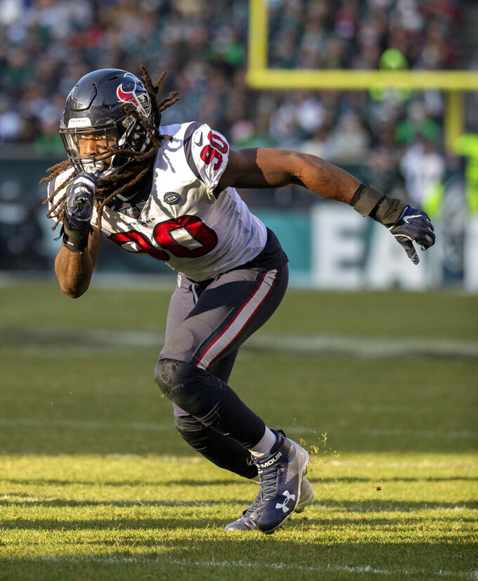 Texans place non-exclusive franchise tag on Clowney