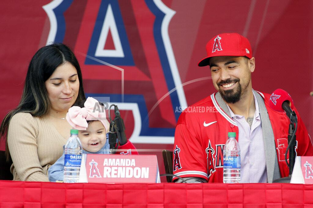 Angels Rendon Baseball