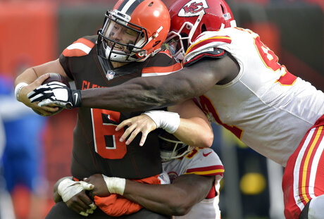 APTOPIX Chiefs Browns Football