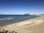 This September 2018 photo shows the beach at the popular tourist resort of Puerto Peñasco in the state of Sonora, Mexico. Fears about possible coronavirus infections from hard hit Arizona and regional politics south of the U.S.-Mexico border saw American vacationers turned back on the road to the popular tourist resort of Puerto Peñasco over the long July 4 weekend. The spat in the small community of Sonoyta erupted against a backdrop of local rivalries and resentments, international politics and growing fears about virus spread along the 2,000-mile border. (AP Photo/Annika Wolters)