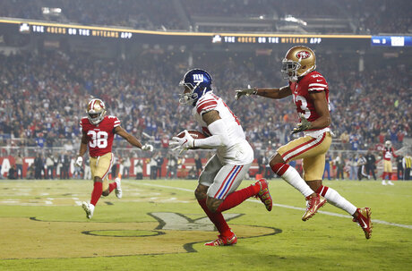 Giants 49ers Football