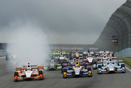 IndyCar Watkins Glen Auto Racing