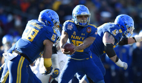 Navy Preview Football