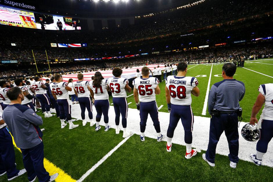 Texans Saints Football